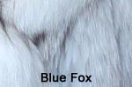 Blue Fox fur image
