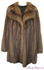 Russian Sable Fur Stroller Coat image