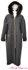 Hooded Charcoal Cashmere and Black Fox Trim Coat image