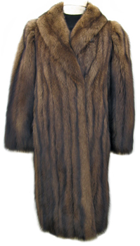 Alixandre Fisher Fur Coat Front image