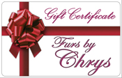 Furs by Chrys Gift Certificate image
