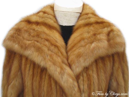Golden Sable Coat By Sorbara For Neiman Marcus Gs603