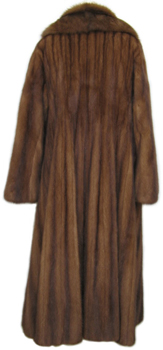 Lunaraine Mink and Sable Coat Back image