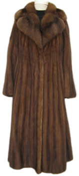 Lunaraine Mink and Sable Fur Coat Front image