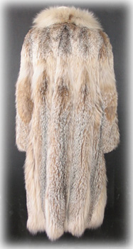 Lynx Coat Back image