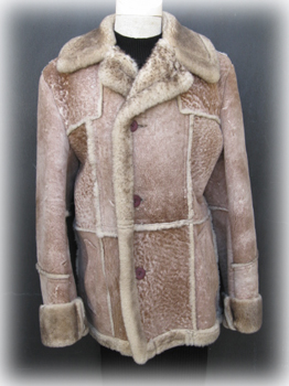 Mens Shearling Sheepskin Jacket S580 - Furs by Chrys