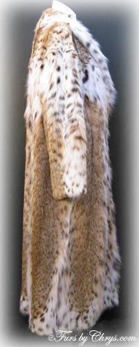 Montana Lynx Fur Coat Side image
