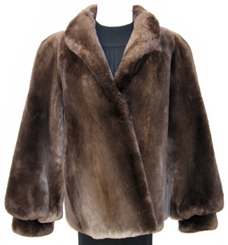 Phantom Sheared Beaver Fur Jacket SB584 - Furs by Chrys