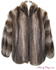 Raccoon Fur Bomber Jacket image