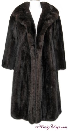 Vintage Ranch Mink Coat RM691 - Furs by Chrys