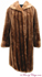 Vintage Sheared Raccoon Fur Coat image