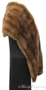 Vintage Squirrel Fur Stole Side image