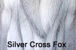 Silver Cross Fox fur image